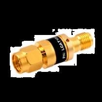 L-com 2W/5dB RF Fixed Attenuator - SMA Male to SMA Female - Gold - 3 GHz