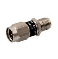 L-com 2W/10dB RF Fixed Attenuator - SMA Male to SMA Female - Stainless Steel - 3 GHz