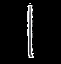 L-com 2.4 GHz 7 dBi Rubber Duck Antenna - RP-SMA Plug Connector