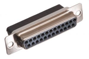 DB25 Female Crimp Connector