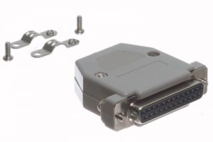 DB25 Female Crimp Connector Kit - Plastic