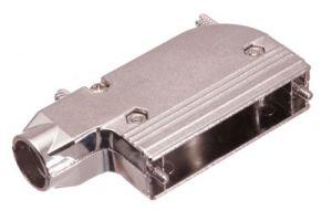 DB25 & HD44 Right Angle Hood - Metal