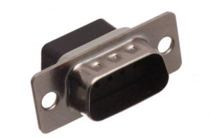 DB9 Male Crimp Connector