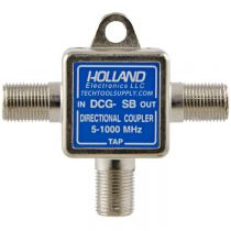 Holland Single Port Coax Tap - 5 to 1000 MHz - 9dB