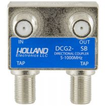 Holland Dual Port Coax Tap - 5 to 1000 MHz