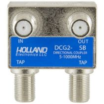 Holland Dual Port Coax Tap - 5 to 1000 MHz - 12dB