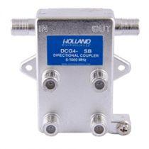 Holland Quad Port Coax Tap - 5 to 1000 MHz - 20dB