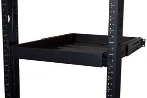 ECore Adjustable Sliding Shelf - 26 Inch Depth - 1 RU