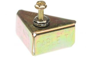 Electrical Bonding Clamp for Meter Pan - UL Listed