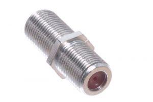 F-Type Female to F-Type Female Premium Splice Adapter - 1 GHz