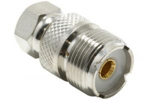 F-Type Male to UHF Female Adapter
