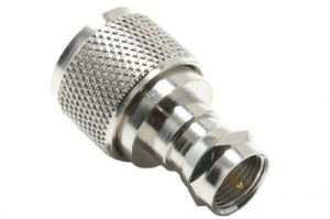 F-Type Male to UHF Male Adapter