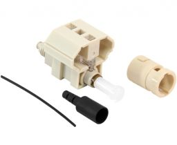 FASTConnect™ ST Multimode 62.5/125 - OM1 Field-Installable Connector - 6 Pack