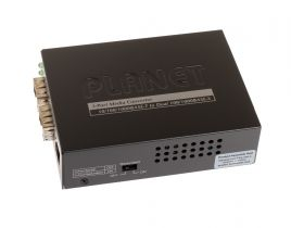Planet 1-Port 10/100/1000BASE-T - 2-Port 100/1000BASE-X SFP Switch/Redundant Media Converter