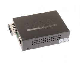 Planet 10/100/1000Base-T to 1000Base-LX Gigabit Converter - Single Mode
