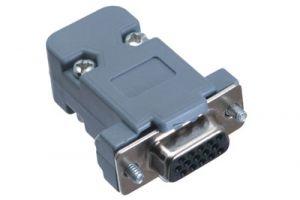 HD15 VGA Female Crimp Connector Kit - Plastic