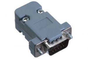 HD15 VGA Male Crimp Connector Kit - Plastic