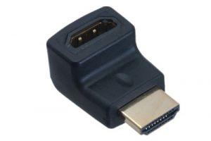 HDMI Male to HDMI Female Upward Angle Adapter