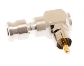 Holland RCA Compression Connector - SLC Series - Right Angle - 23 AWG