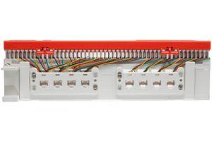 66 Wiring Block - 8 Jacks - 6P6C