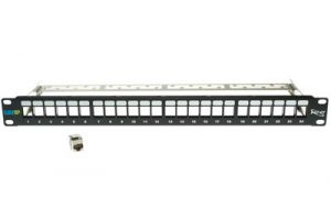 ICC Cat6A Shielded Patch Panel Kit - 10G - 24 Port