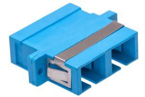 ICC SC/SC Duplex Singlemode/Multimode Fiber Adapter - Ceramic
