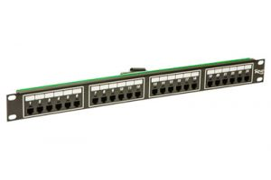 ICC Telco Male Patch Panel - RJ11 - 6P2C - 1 RU - 24 Port