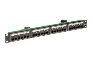 ICC Telco Male VOIP Patch Panel - RJ45 - 8P4C - 1 RU - 24 Port