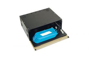 ICC Fiber Optic Rack Mount Enclosure - 192 Splice - 4 RU