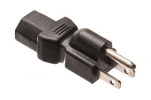 C13 to NEMA 5-15 Power Adapter