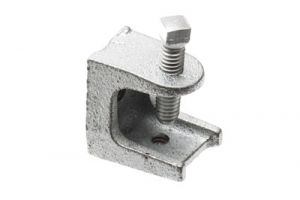 Iron Beam Clamp - 7/8 Inch - 1/4-20 Thread