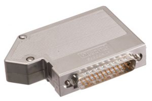 Maxblox DB25 Male Terminal Block Connector with Hood