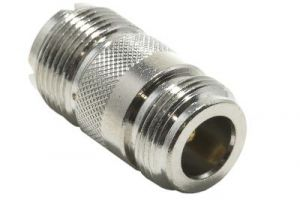 N Female to UHF Female Adapter