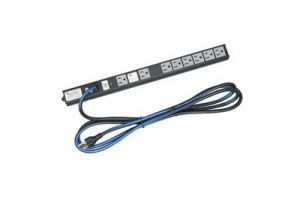 Middle Atlantic Slim Power Strip 8 Outlet 15A - Basic Surge - 10 Foot Cord