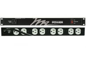 Middle Atlantic 9 Outlet 15A Rackmount Power - Basic Surge - 20 Foot Cord