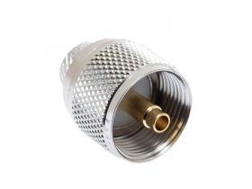 Pasternack PE44054 - UHF Male Crimp Connector - Crimp Pin - LMR-400, RG-8, RG213
