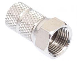 Pasternack PE44318- 75 Ohm F Male Connector Twist Attachment
