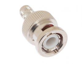 Pasternack PE44640- BNC Male Connector Crimp/Solder Attachment