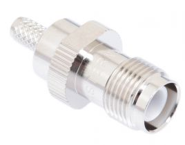 Pasternack PE4686 - Reverse Polarity TNC Male Connector - RG58, RG141, LMR-195