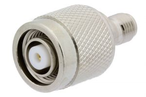 Pasternack PE9602 - SMA Female to RP TNC Male Adapter