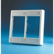 Ortronics Series II Wall Plate - Double Gang - Standard Profile