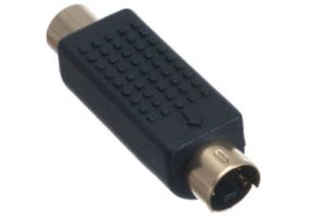 RCA Female to S-Video Male Adapter