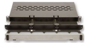 Corning Pretium® Connector Housing - Reduced Depth - 1 Rack Unit