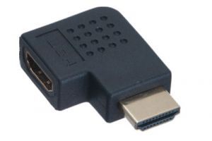 HDMI Male to HDMI Female Right Angle Adapter
