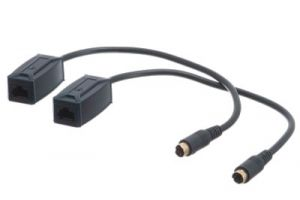 S-Video over Cat5e Extender Balun