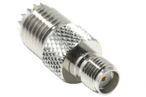 SMA Female to Mini UHF Female Adapter