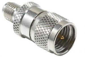 SMA Female to Mini UHF Male Adapter