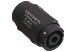 Neutrik speakON Male to speakON Male Lockable Coupler Adapter | NL4MMX
