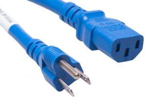 ECore Universal CPU Power Cord - Nema 5-15P to C13 - 15 Amp