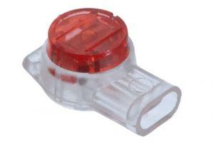UR IDC Buttsplice 19-26 AWG - Red - 3 Wire - Gel Filled